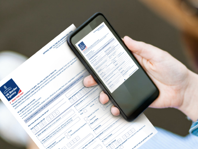 Scanning documents on your iPhone