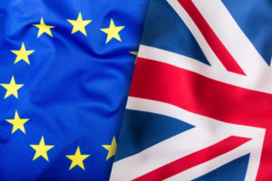 Brexit & Union Jack Flag