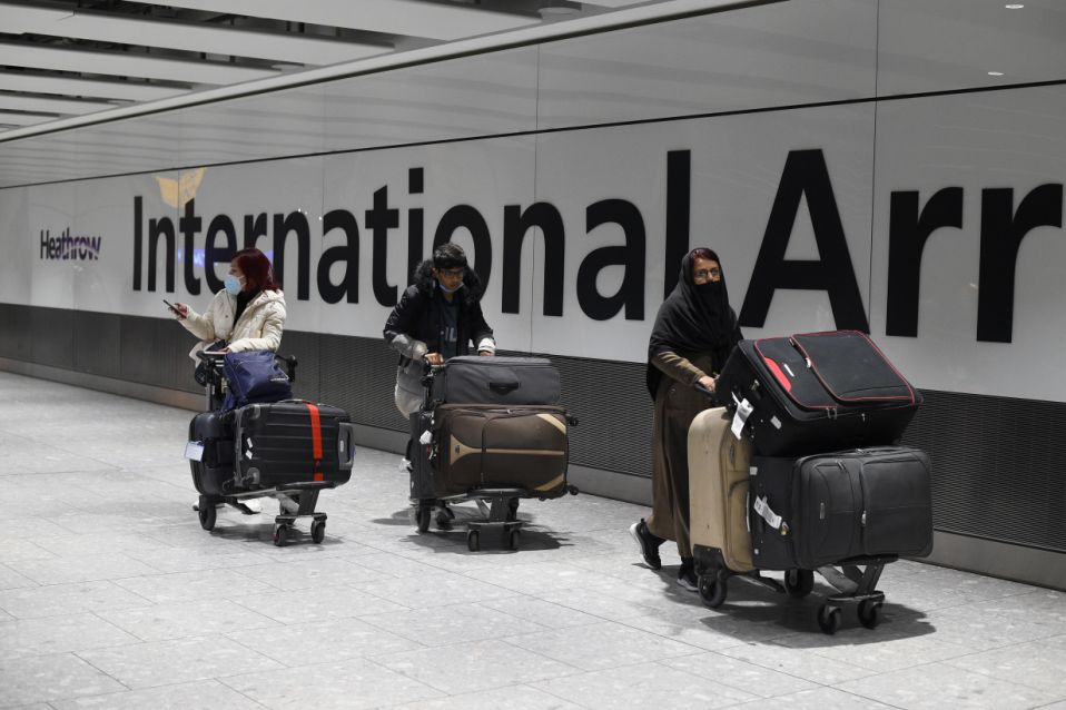 UK travel restrictions for students