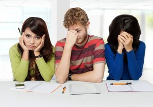 GCSE students disappointed by their results